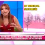 """Nacional: Magaly Medina se queda """"Muda"""" tras ultimatum de Jefferson Farfan solicitando se """"Rectifique"""""""