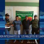 """Chiclayo: Caen integrantes de """"Los malditos de Campodónico"""""""
