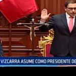 Martín Vizcarra asume como presidente del Perú