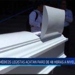 Chiclayo: Médicos legistas acatan paro de 48 horas a nivel nacional