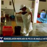 Chimbote: Remodelarán mercado de peces de muelle artesanal