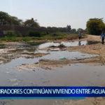 Piura: Población continúa viviendo en aguas servidas
