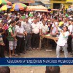 Chiclayo: Aseguran atención en mercado Moshoqueque