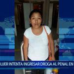 Piura: Mujer intenta ingresar  droga al  penal en choclos