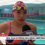 Nicol Rojas se prepara para nuevas competencias