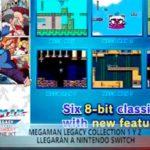 Mega Man Legacy Collection 1 y 2 llegarán a nintendo switch