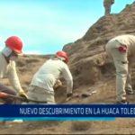 Nuevo descubrimiento en la Huaca Toledo