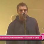 Internacional: Liam Gallagher abandona el escenario del Lollapalooza en Chile