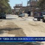 "Piura: ""Obra de Av. Don Bosco, es un doble gasto"""