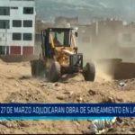 El 27 de Marzo adjudicaran obra de saneamiento en La Esperanza