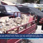 Chiclayo: Inician operativos para que no arrojen basura en las calles
