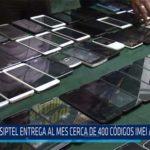 Chiclayo: OSIPTEL entrega al mes cerca de 400 códigos imei a la fiscalía