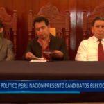 Partido Político Perú Nación presentó candidatos elecciones 2018