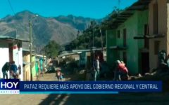 Pataz requiere más apóyo del Gobierno Regional y Central