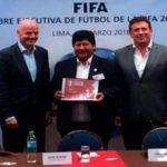 Perú será organizador del Mundial Sub-17 en el 2019