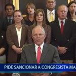 Piura: Martiza García pide sancionar a Congresista Mamani