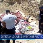 Chiclayo : Detectan locales de venta de pirotécnicos