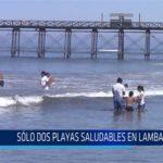 Chiclayo: Solo dos playas saludables en Lambayeque