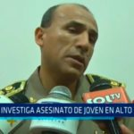 PNP investiga asesinato de joven en Alto Trujillo