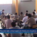 Chiclayo: Policías son capacitados en temas de violencia de género