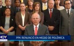 PPK renunció en medio de polémica