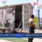 Chiclayo: Pri en pueblo joven francisco cabrera presenta  deficiencias