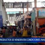 Piura: Productos se venden en condiciones inadecuadas en mercado de Castilla