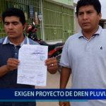 Piura: Exigen proyecto de dren pluvial