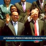 Chimbote: Autoridades piden estabilidad a nuevo Presidente