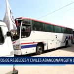 Siria: Cientos de rebeldes y civiles abandonan Guta Oriental