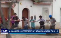 Informe Especial: A un año de los desbordes de Las Quebradas en Trujillo