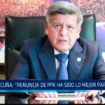 """César Acuña: """"Renuncia de PPK ha sido lo mejor para el país"""""""
