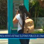Empresa intenta retirar teléfonos públicos de zonas rurales