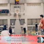 Robot basquetbolista venció a profesionales en tiros libres