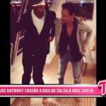 Internacional: Marc Anthony le enseña a bailar salsa a Will Smith.