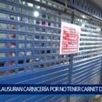 Piura: Clausuran carnicerías por no tener carnet de sanidad