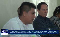 Piura: Solidaridad presentó pre candidato