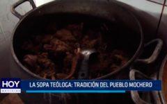 La sopa teóloga: Tradición del pueblo mochero