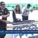 Chiclayo: SUCAMEC cancela más de seis mil licencias para portar armas de fuego