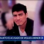 Piura: Sujeto viola a menor de 14 años