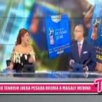 Nacional: Pedro Tenorio le jugó una broma muy pesada a Magaly Medina
