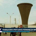Chimbote: Trabajadores portuarios permanecen impagos