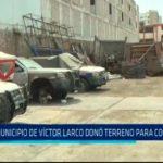 Municipio de Víctor Larco donó terreno para comisaría