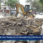 Piura: Inician trabajos de rehabilitación de Av.  Bolognesi