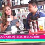 Open Bar: Tragos Aristóteles Restaurant