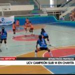 UCV campeón sub 14 en chayita