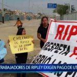Piura: Trabajadores de Ripley exigen pago de utilidades