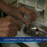 Chiclayo: Llega primer lote de vacunas contra varicela