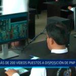 Más de 230 vídeos puestos a disposición de PNP y fiscalía