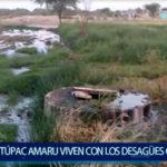 Piura: Pobladores viven con los desagües colapsados